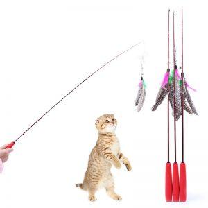 Удочки для кошек: ненужная вещь или полезный предмет в доме?