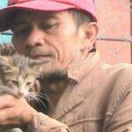 Невероятная история бедняка, который так хотел помочь пострадавшей кошке, что совершил настоящее чудо
